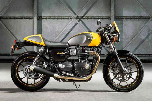 Triumph Street Cup Parts and Accessories